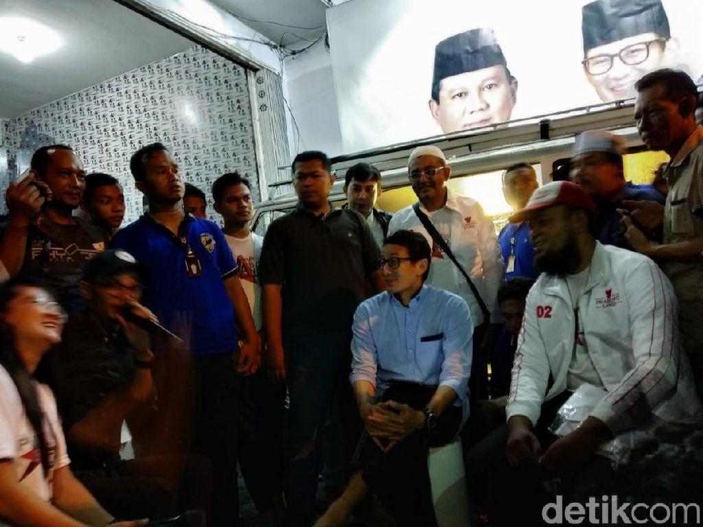 Terkait Kasus Dana Kemah, Sandiaga Beri Dukungan Moril untuk Dahnil