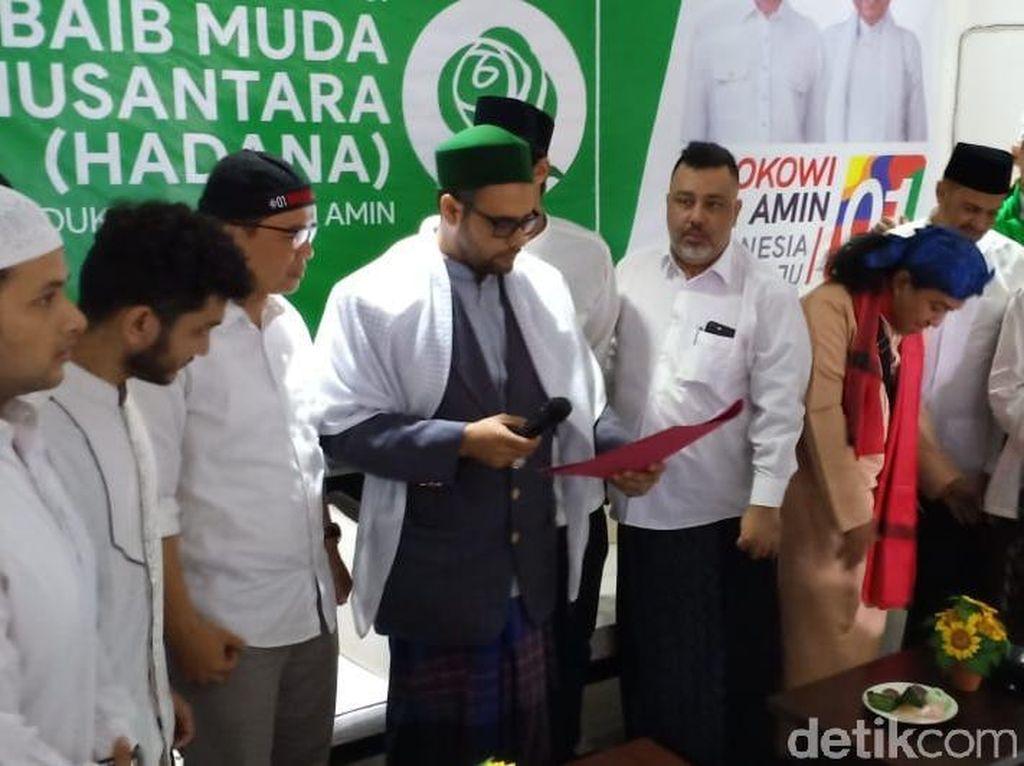 Habaib Muda Nusantara Deklarasi Dukung Jokowi-Maruf