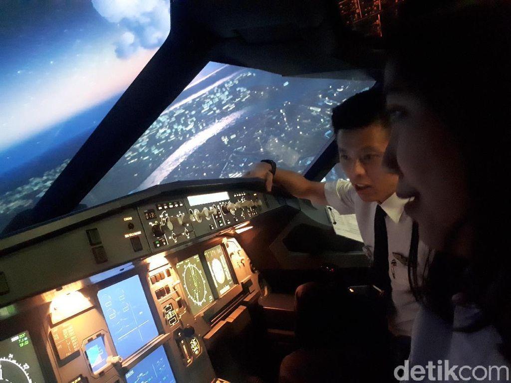 Kamu Mau Coba Menerbangkan Pesawat, di Sini Tempatnya!
