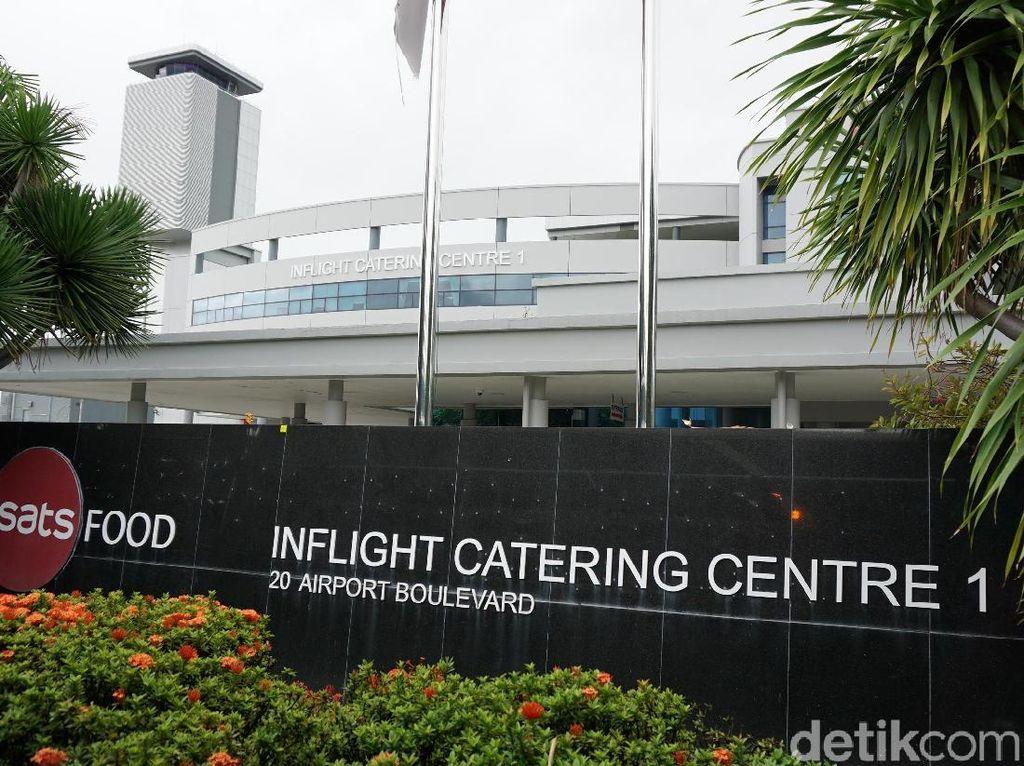 Foto: Dapur Katering Singapore Airlines yang Dirahasiakan