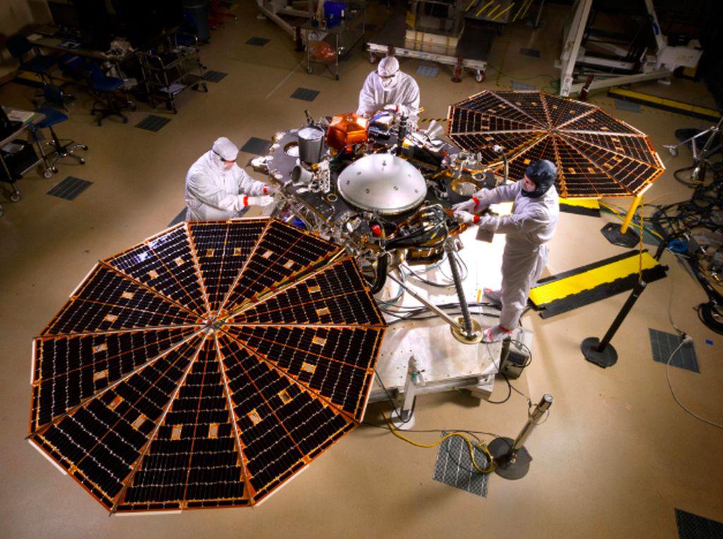 Begini Pembuatan Robot Rp 12 Triliun yang Mendarat di Mars