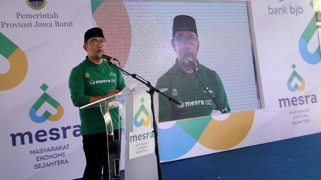 Ridwan Kamil Minta Bank BJB Perangi Rentenir Digital