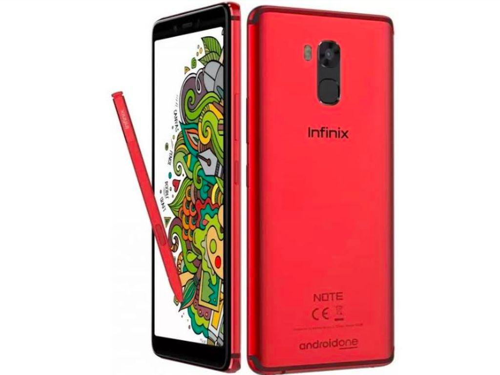 Infinix Rilis Ponsel Android One Pakai Stylus