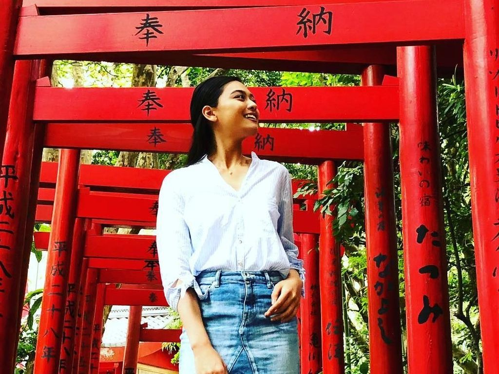 Liburannya Yuumi Kato, Miss Universe Japan yang Populer di Malaysia