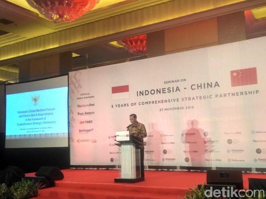 Di Depan Pengusaha China, Luhut Pamer Kondisi Ekonomi RI