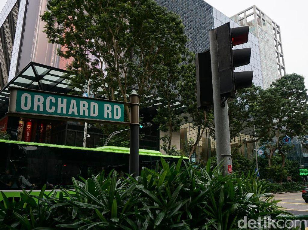 Orchard Road Singapura Resmi Bebas Produk dan Asap Rokok
