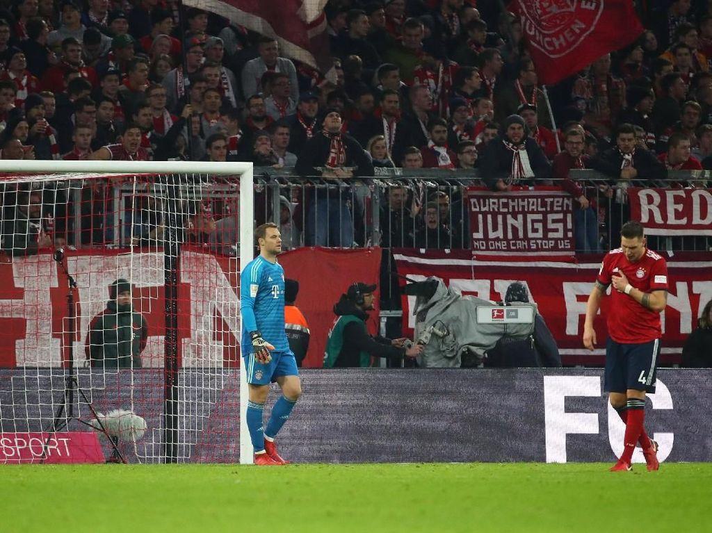 Pertahanan Bayern Memang Seperti Film Komedi