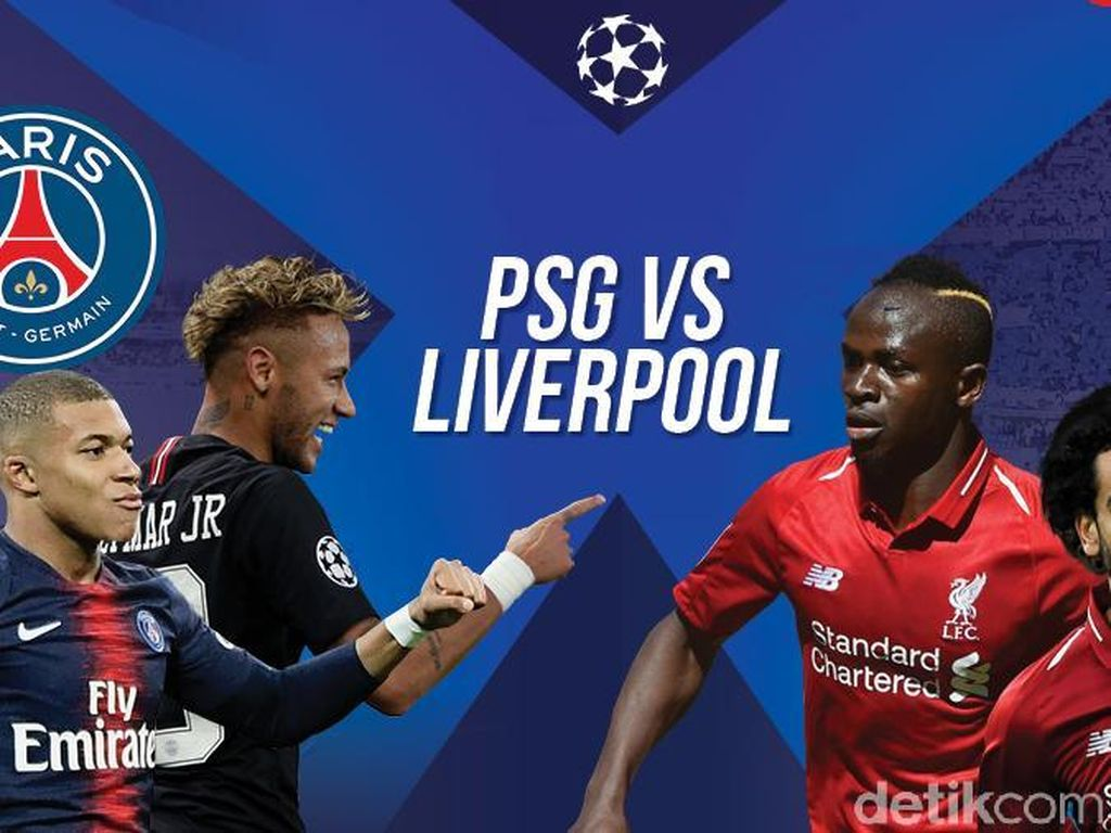 Prediksi PSG vs Liverpool: Kesempatan Neymar dkk Balas Dendam ke The Reds