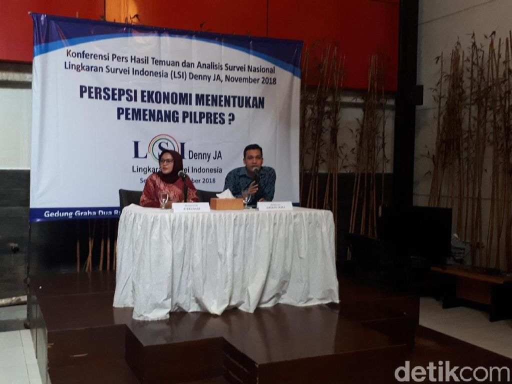 Survei LSI Denny JA: Jokowi Ungguli Prabowo di Pemilih Nonmuslim