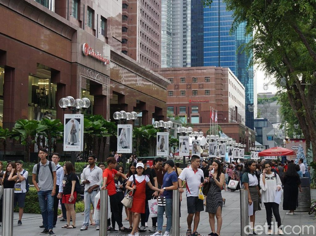 Singapura Targetkan 19 Juta Turis Tahun 2019
