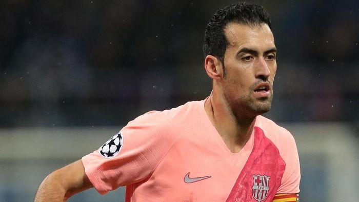 Sergio Busquets ingin berkarier di Barcelona sampai pensiun (Foto: Emilio Andreoli/Getty Images)