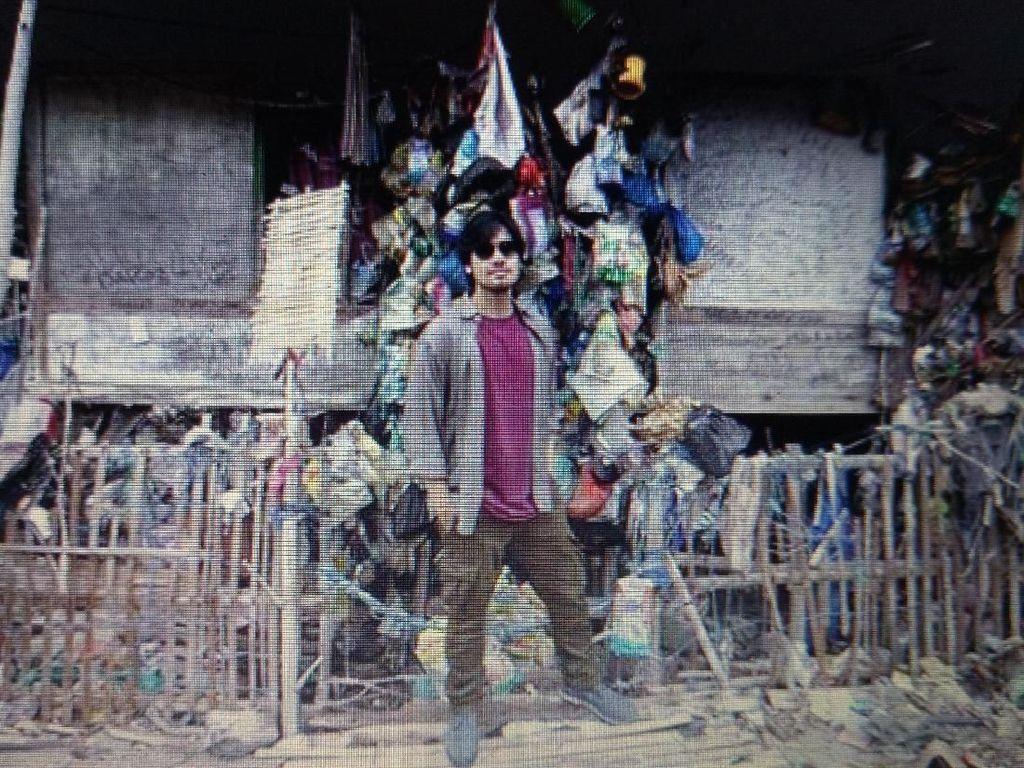 Chicco Jerikho Merasa Ditampar Lihat Rumah Berhias Sampah dari Laut