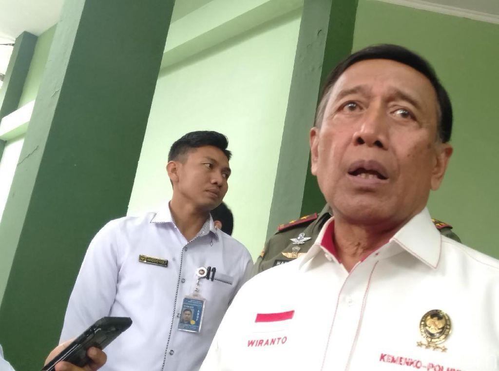 Wiranto: Dulu 212 Sasarannya Ahok, Sekarang Sudah Tak Relevan