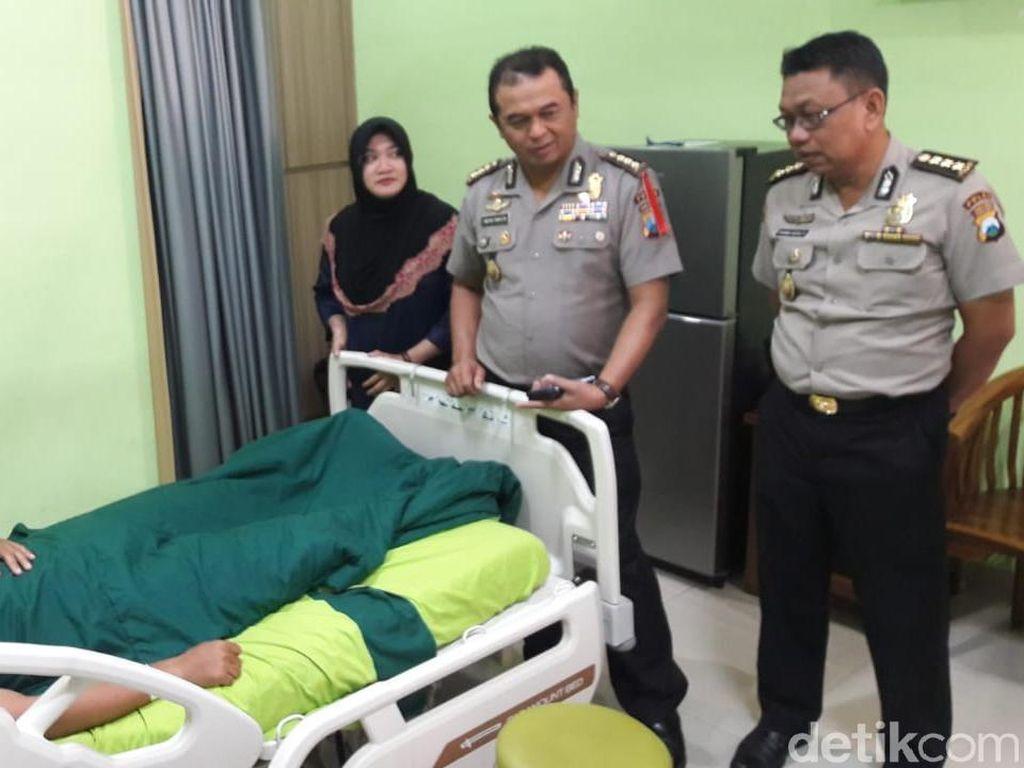 Cerita Bripka Andreas Kejar Pelaku Penyerangan Pos Polisi di Lamongan