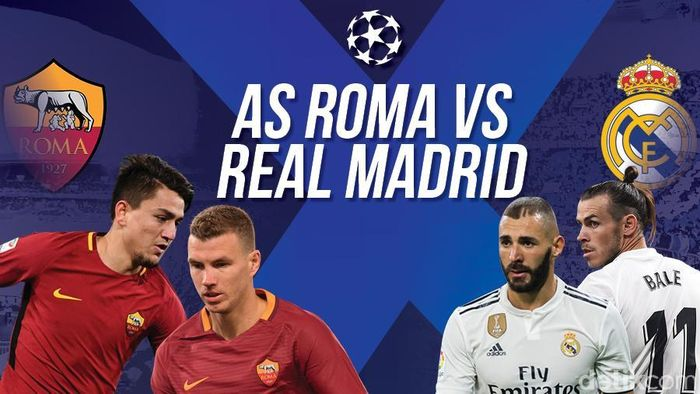 AS Roma Dibungkam Real Madrid