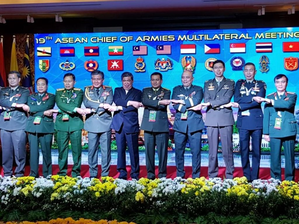 Malaysia Gelar Pertemuan KSAD Se-ASEAN