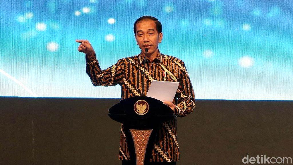 Jokowi Hadiri Pertemuan Tahunan BI