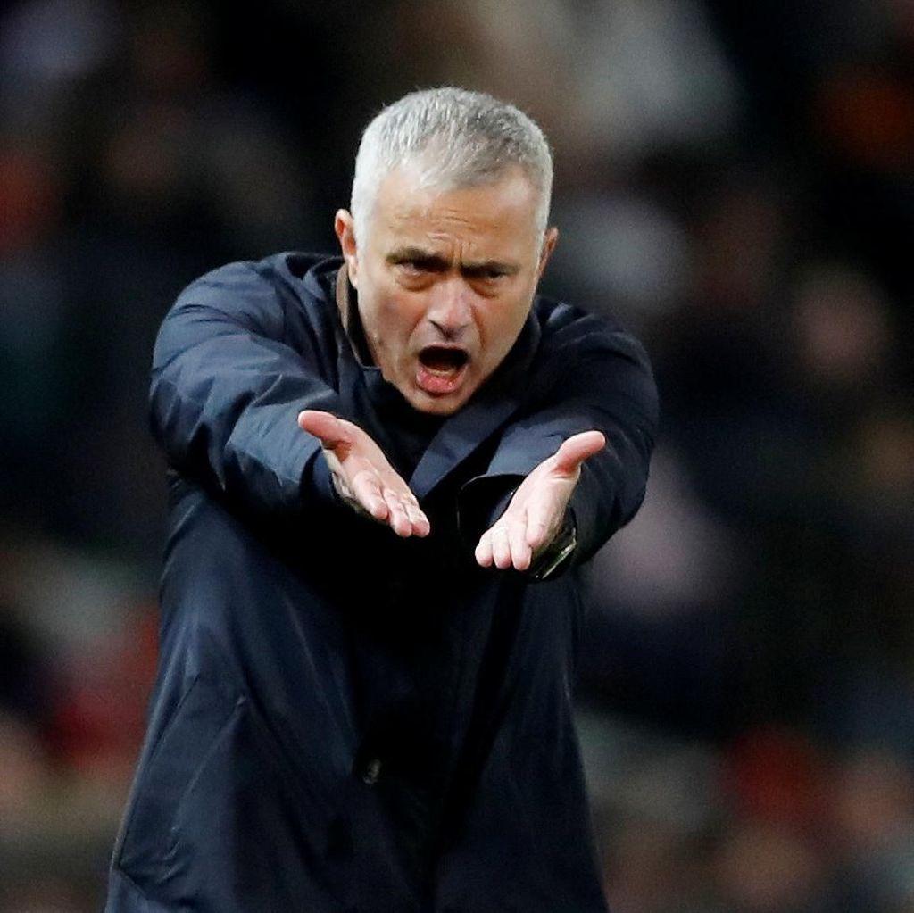 Dipecat MU, Persentase Kemenangan Mourinho Cuma Kalah dari Sir Alex