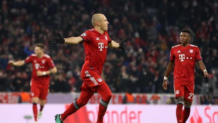 Arjen Robben mengatakan dirinya terusir dari Real Madrid akibat proyek Los Galacticos jilid II (Foto: Adam Pretty/Getty Images)