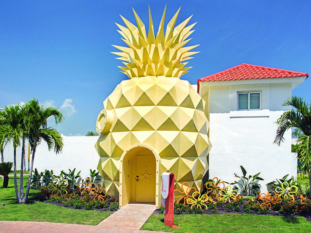 Foto: Main ke Rumah Spongebob