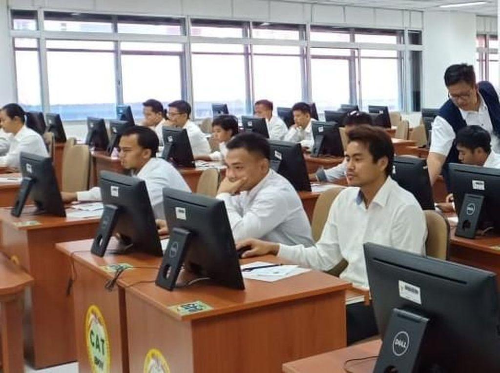 Pelamar CPNS Kemenag Harap Sabar, Pengumuman Hasil Tes SKD Ditunda