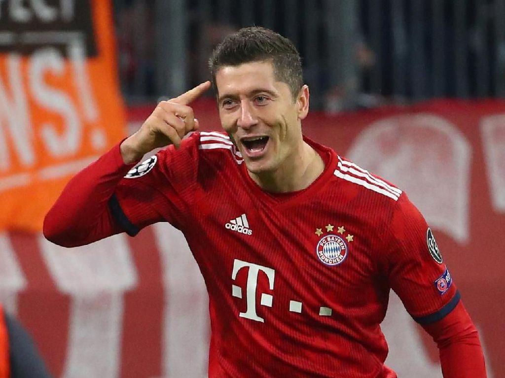 Andai Jadi Tinggalkan Bayern, Lewandowski Cuma Mau ke Madrid
