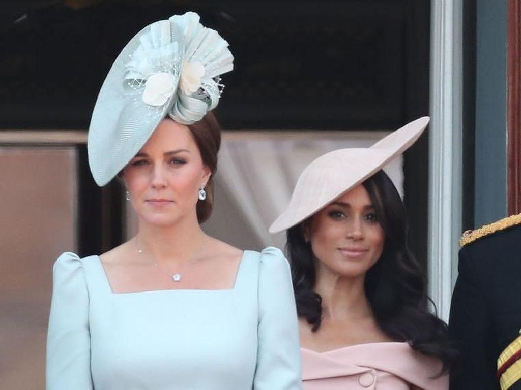 Digosipkan Tak Akur, Ini Momen Kebersamaan Kate Middleton dan Meghan Markle
