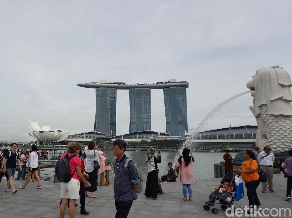 Indonesia Bisa Dapat 11 Juta Turis Dunia dari Singapura