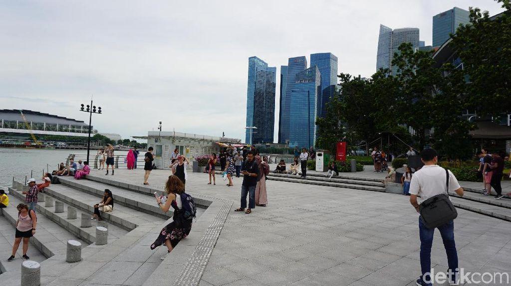 Foto: Tempat Menikmati Sore di Singapura