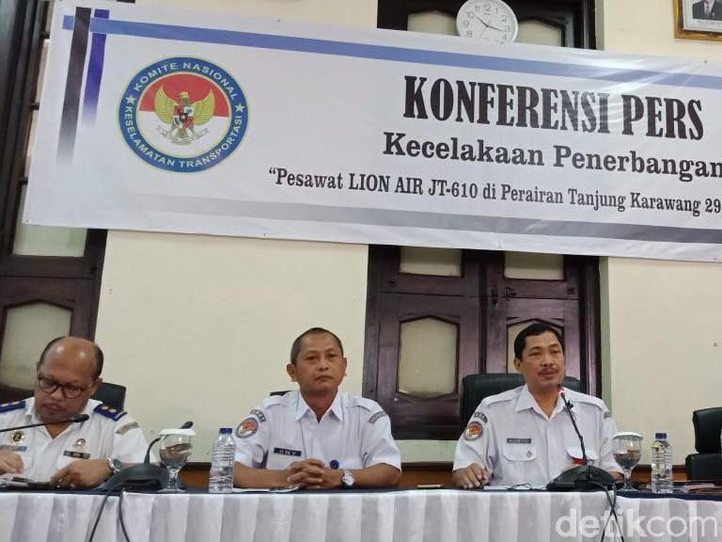 KNKT Luruskan Pernyataan Soal Lion Air PK-LQP Tak Laik Terbang
