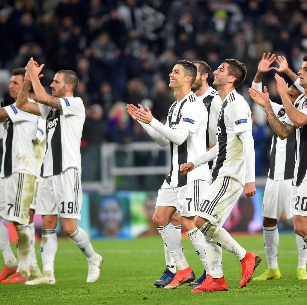 Ronaldo: Juventus seperti Keluarga, Beda dengan Madrid