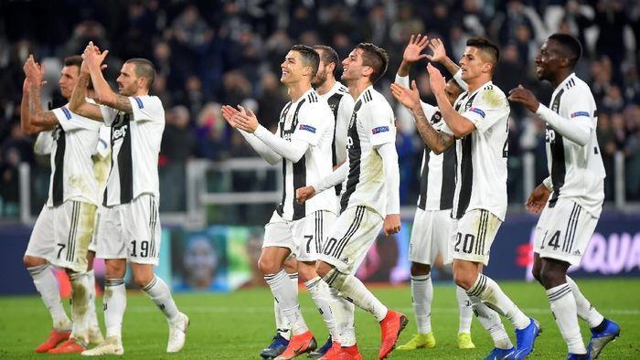 Meski jauh memimpin, Juventus disebut belum tentu akan juara Liga Italia musim ini. Foto: Massimo Pinca/Reuters