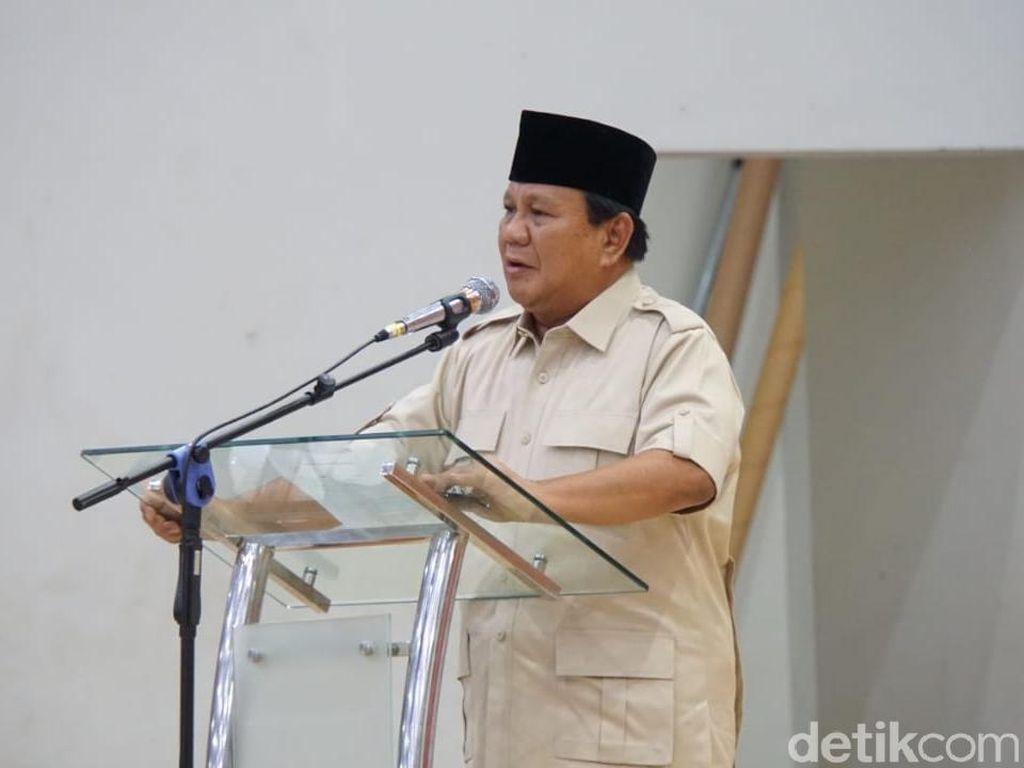 Prabowo Sebut Pemerintah Utang untuk Impor Pangan, Apa Iya?