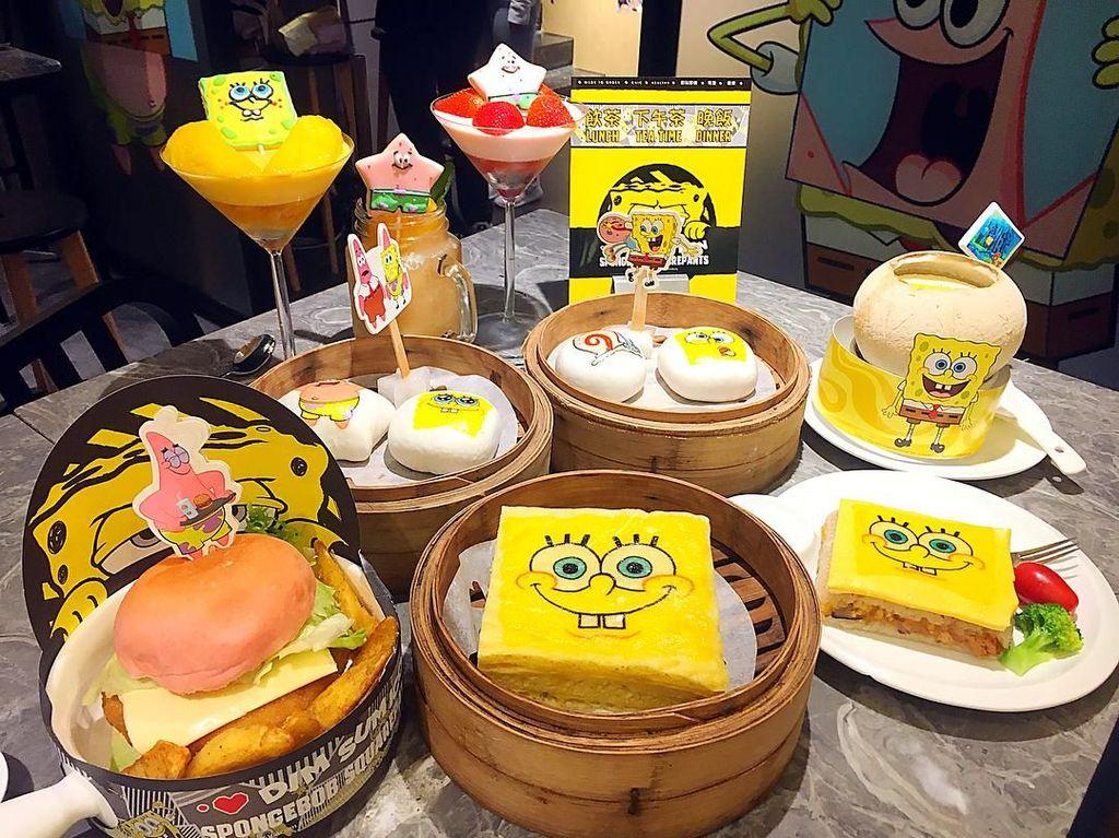 Mengenang Karya Stephen Hillenburg, Lewat Kue Tema SpongeBob SquarePants