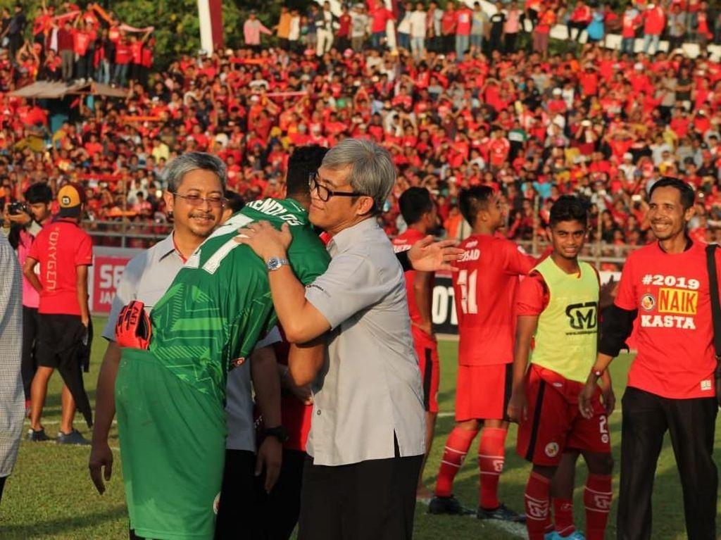Berkat Doa Semua Orang Minang, Semen Padang Balik ke Liga 1