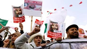 Disambut Demo di Tunisia, Putra Mahkota Saudi Diteriaki Pembunuh