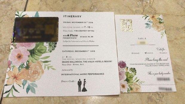 Crazy Rich Surabayan Nikah, Suvenir Emas Sampai Door Prize Jaguar