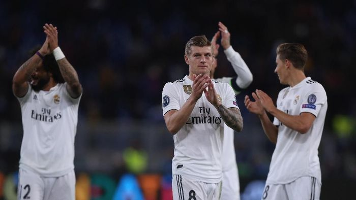Toni Kroos menilai Real Madrid wajar melewati naik-turun (Foto: Paolo Bruno/Real Madrid via Getty Images)