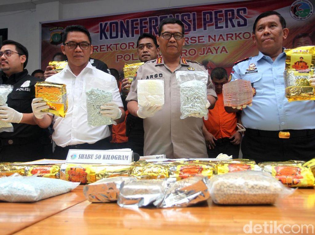 43 Ribu Pil Ekstasi Berhasil Diamankan Polda Metro Jaya