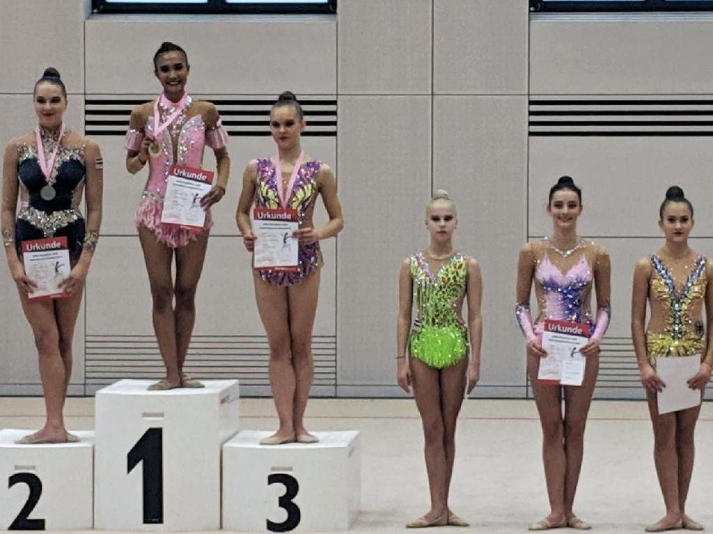 Indonesia Rebut Emas Kejuaraan Senam Ritmik di Jerman