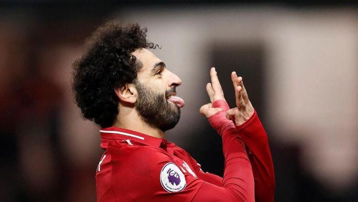 Mohamed Salah kembali tampil tajam usai start buruk musim ini (Carl Recine/Reuters)