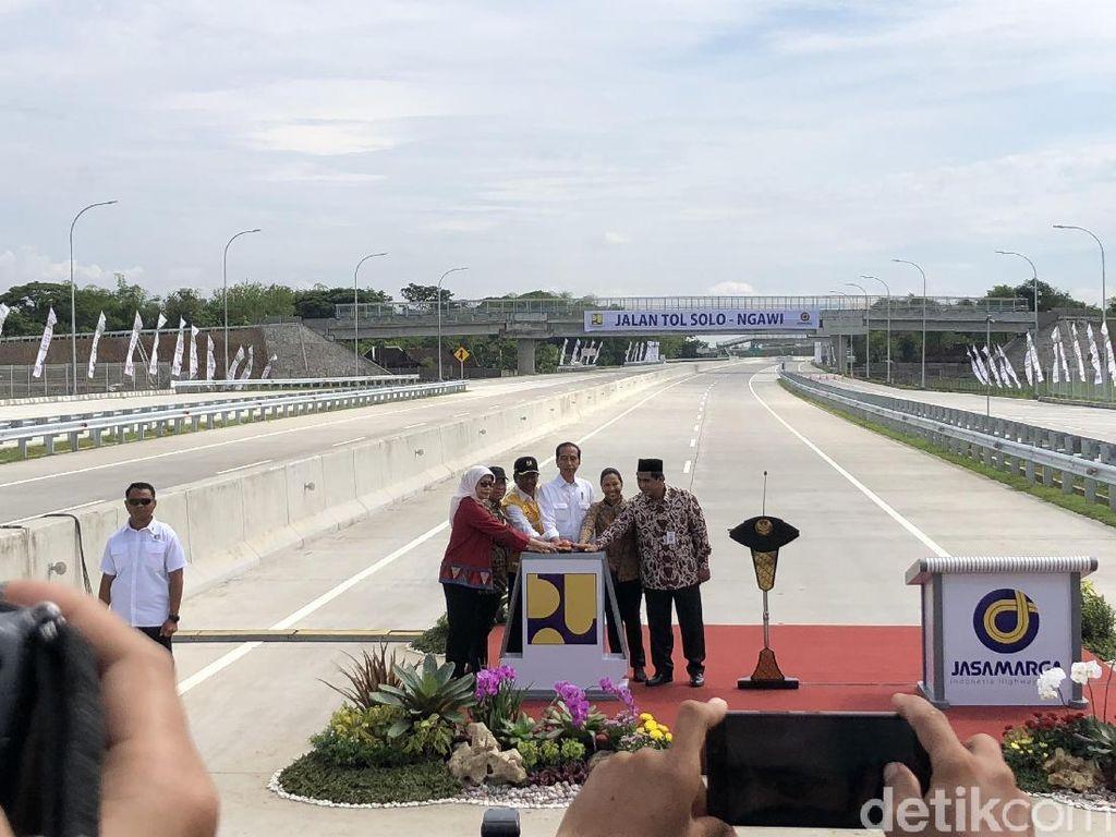 Merak-Banyuwangi Tersambung Tol, Jokowi: untuk Industri dan Wisata