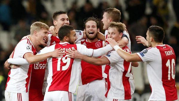 Mengenal Skuat Ajax yang Depak Madrid dan Juventus dari Liga Champions