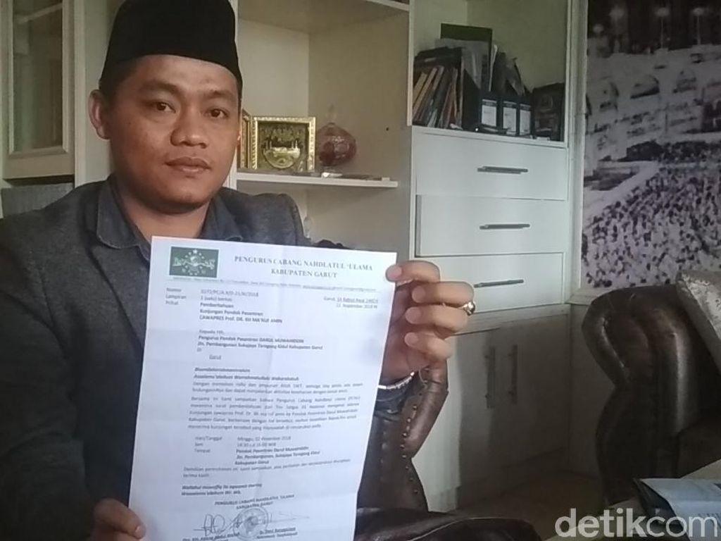 TKD Jokowi-Maruf Sayangkan Bocornya Surat Penolakan Ponpes Garut