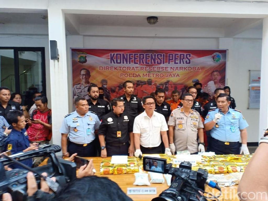 Polisi Gagalkan Peredaran 50 Kg Sabu Jaringan Malaysia-Jakarta