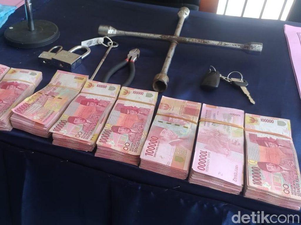 Pembobol Brankas ATM Rp 750 Juta di Mataram Dibekuk