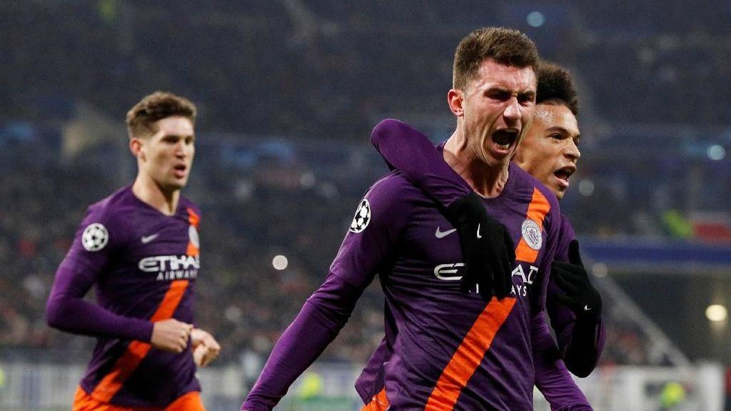 Manchester City Nyaris Dipermalukan Lyon Lagi