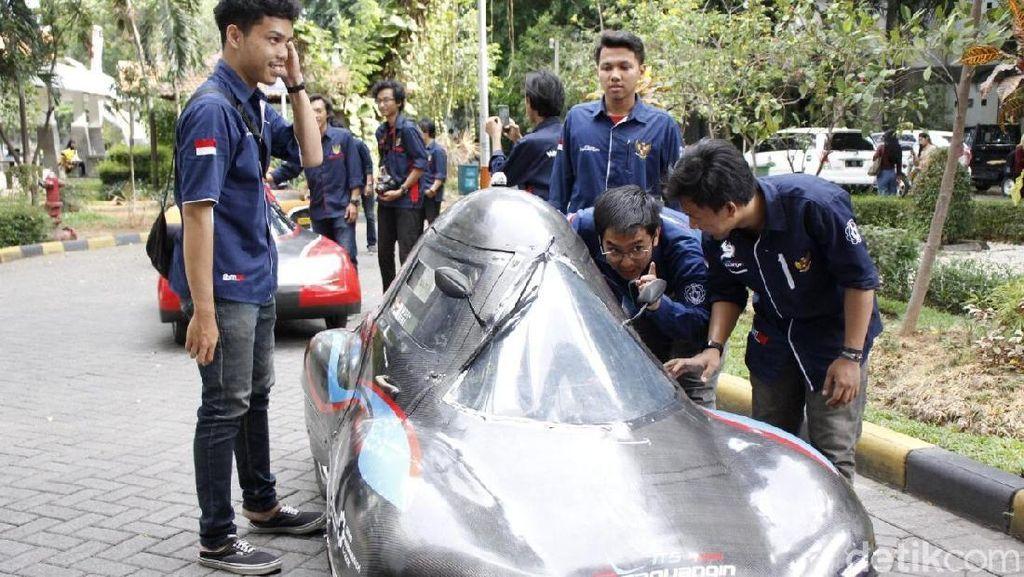 Bawa Empat Mobil, ITS Targetkan Jadi Juara Mobil Hemat Energi