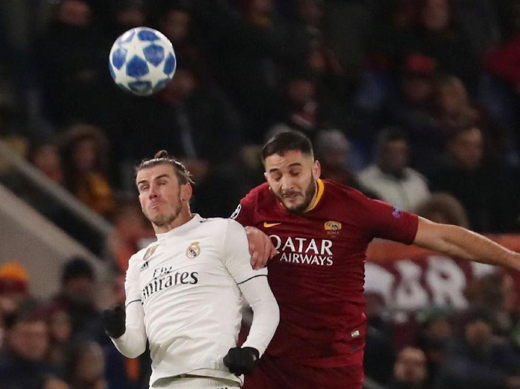 Hasil Roma vs Madrid: Menang di Olimpico, Los Blancos Juara Grup G