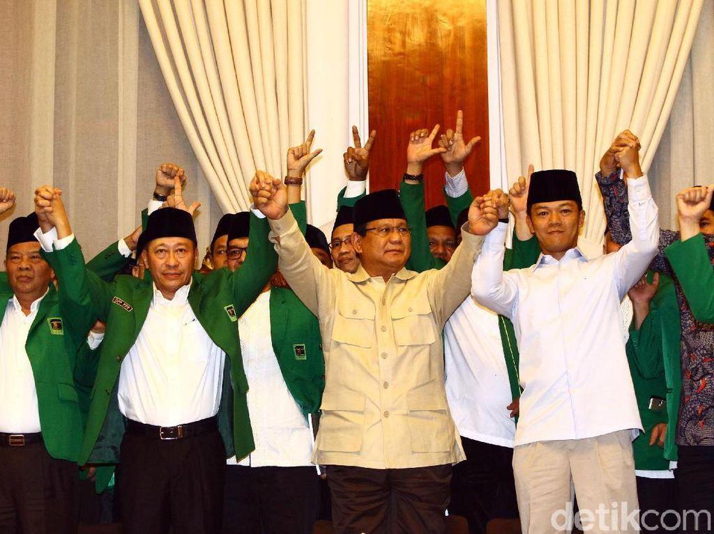 Didukung PPP Kubu Humphrey, Prabowo: Mari Lakukan Perubahan Besar